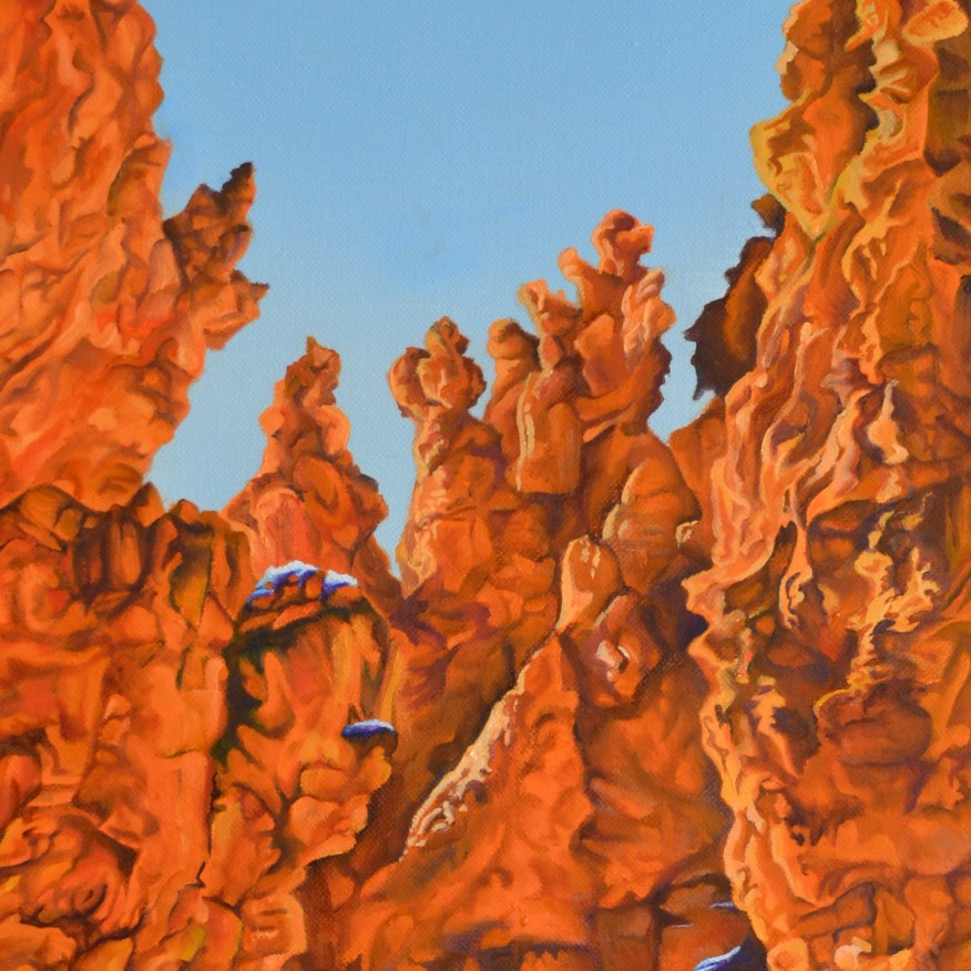 Among The Hoodoos • 12x24 • Oil - Available for Purchase