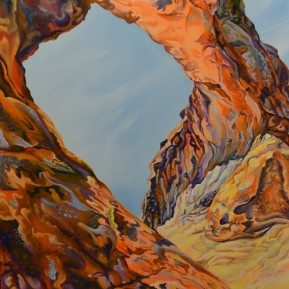 Partition Arch - Oil on panel - 18 x 24 - Available for Purchase